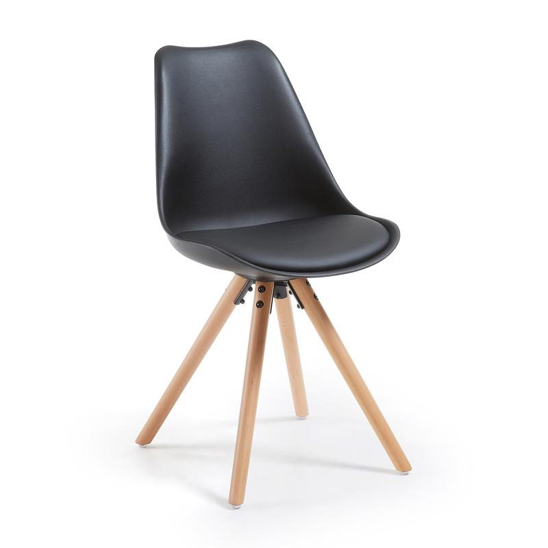 Design stoel zwart