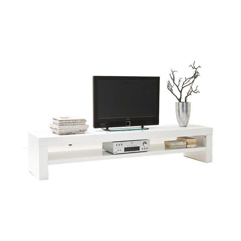 Design tv meubel hoogglans wit