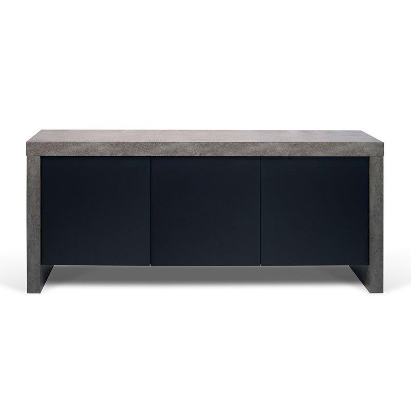 Dressoir betonlook 188 cm