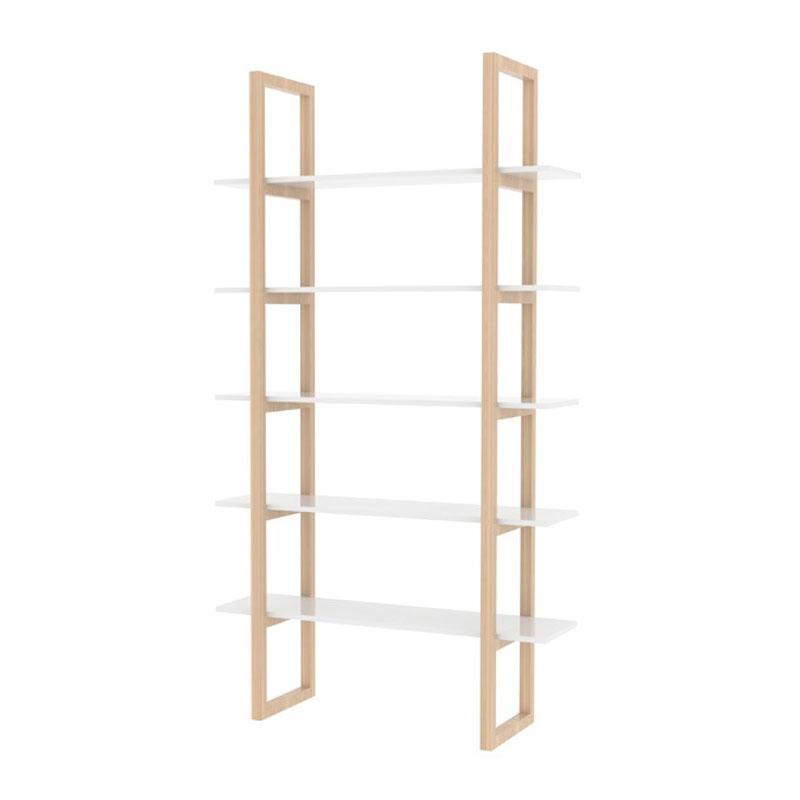 Houten design boekenkast