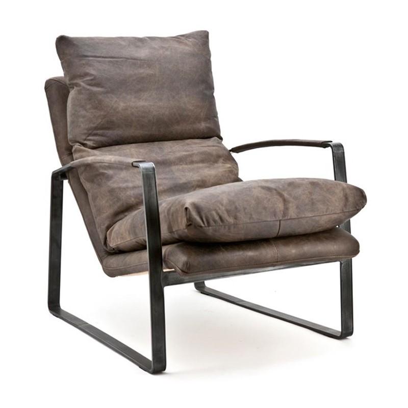 Wonderbaarlijk Eleonora Lex   Lounge fauteuil leer   92090   LUMZ VF-51