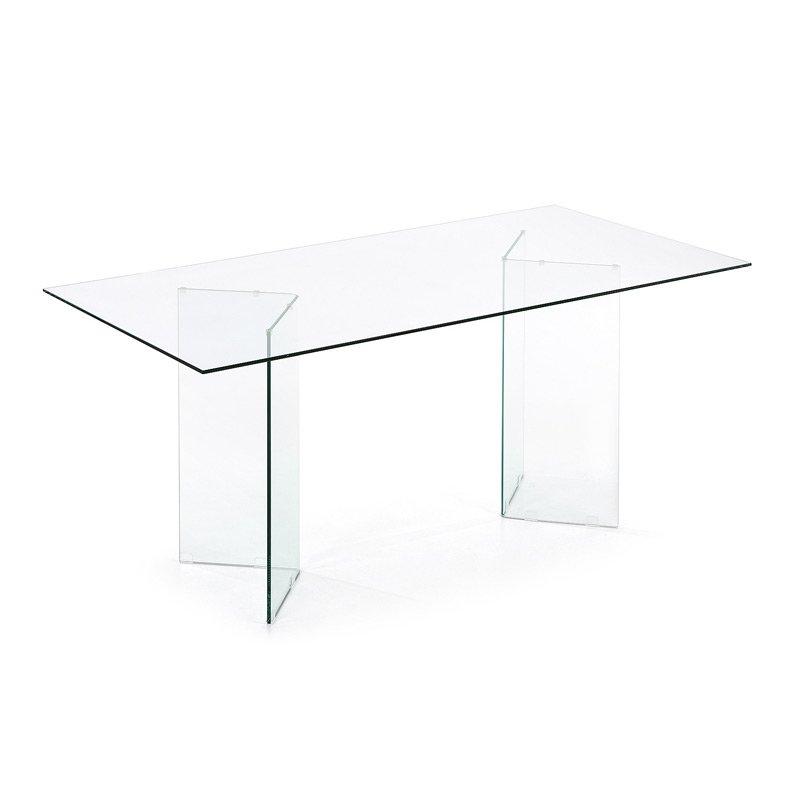 Glazen design tafel 180 LaForma
