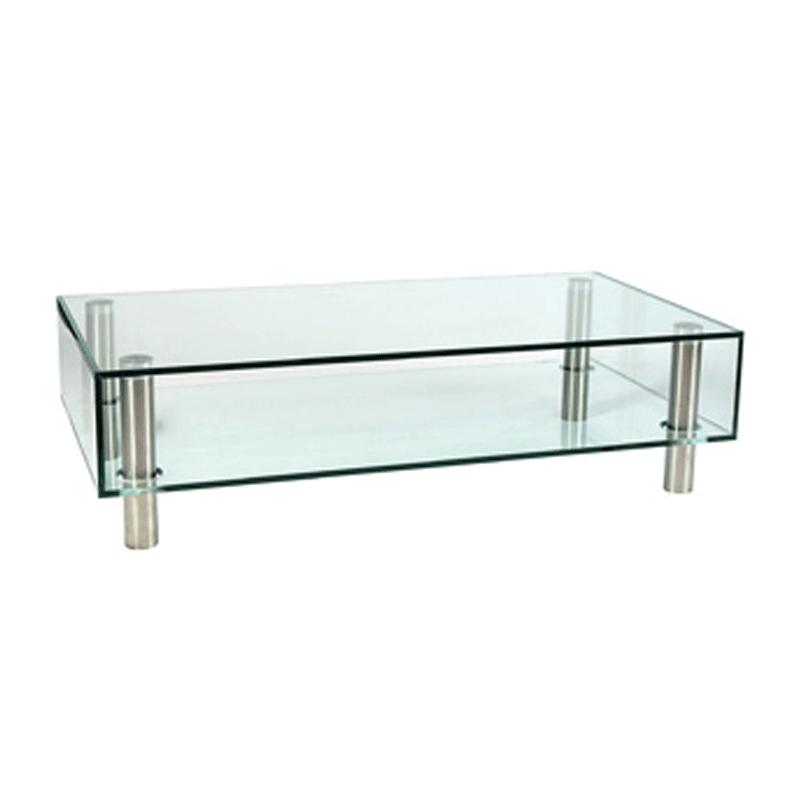 Glazen salontafel Adele 4