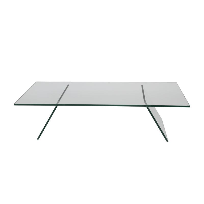 Glazen salontafel design Adele V