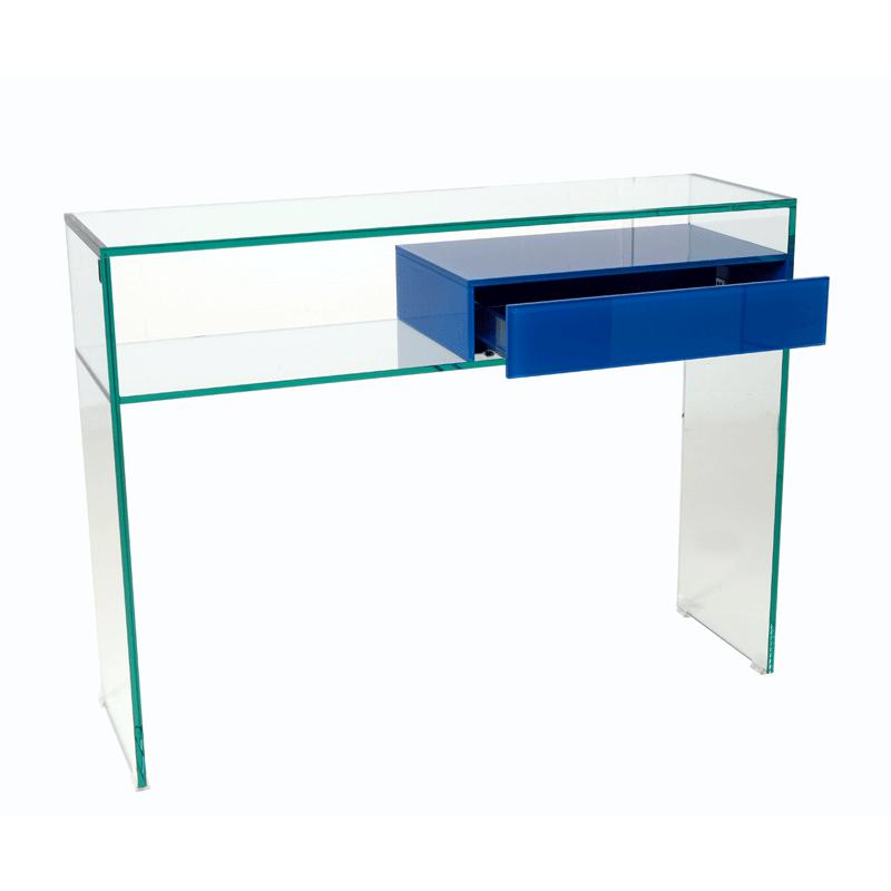 Glazen sidetable Vetro BL