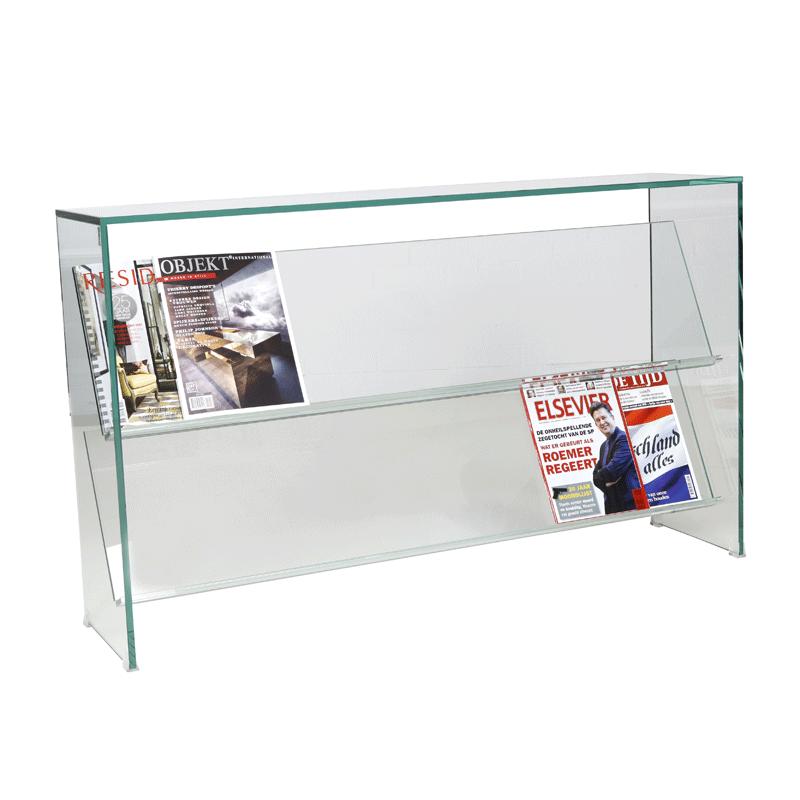 Glazen sidetable Vetro L