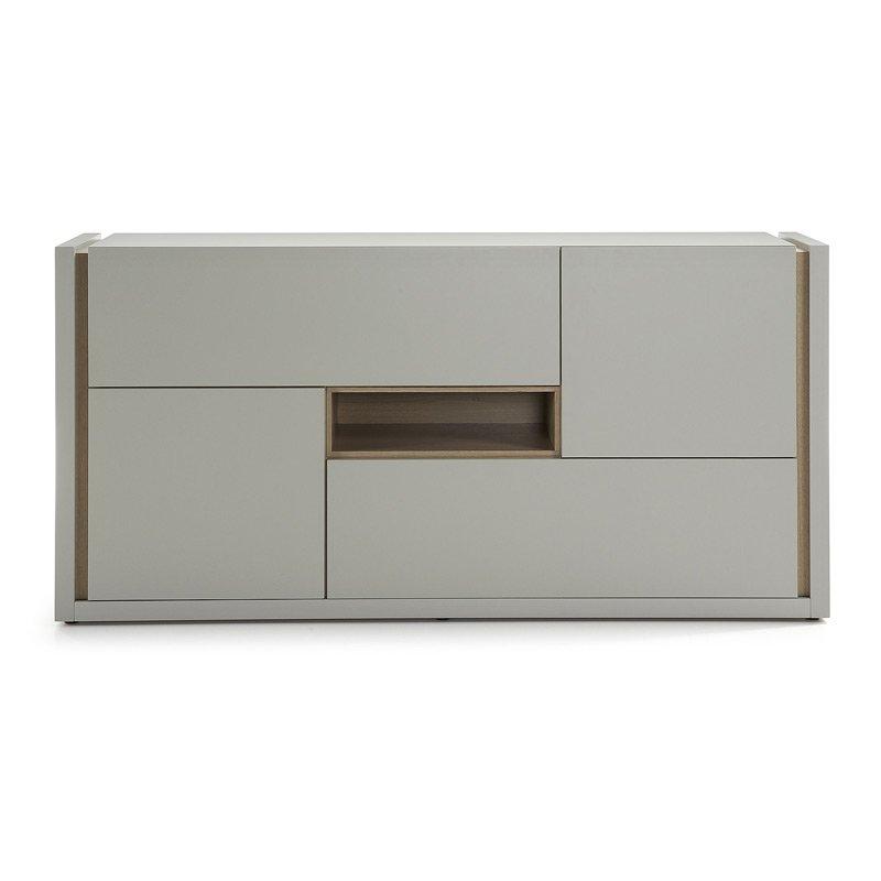 Design dressoir LaForma Qu 4D grijs