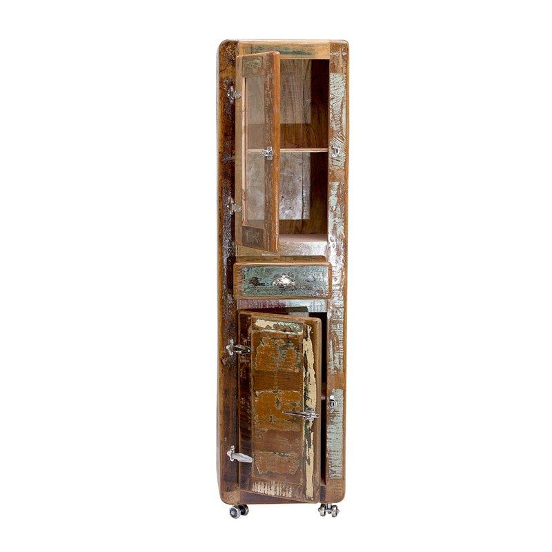 Authentieke wandkast van sloophout