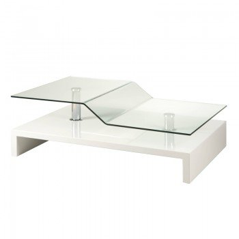 Design salontafel hoogglans wit