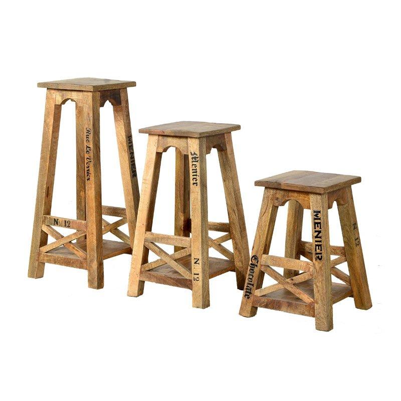 Landelijke houten zuil