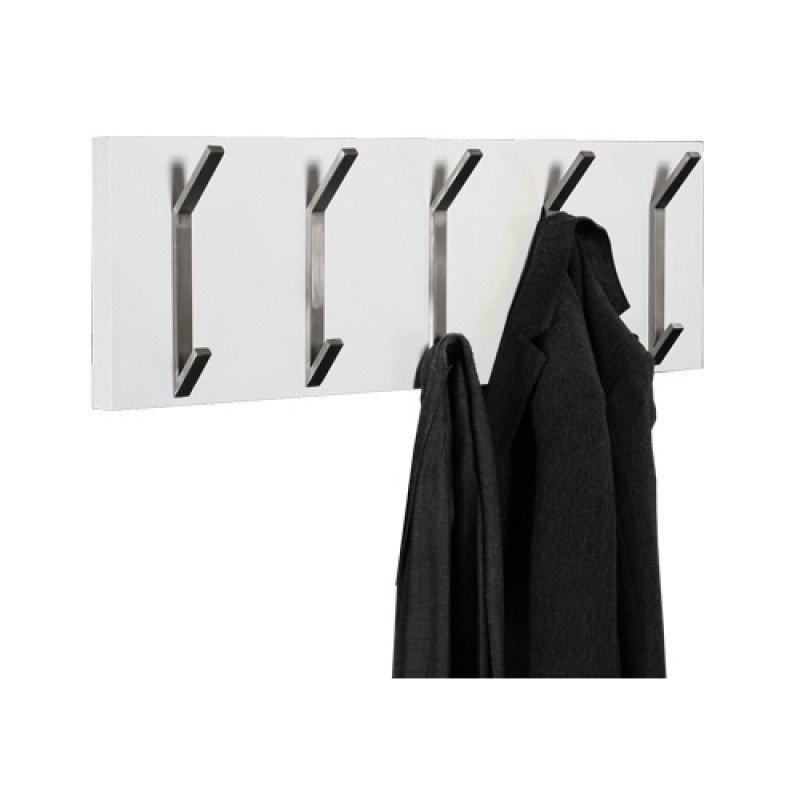 Hoogglans kapstok zwart of witHoogglans design kapstok