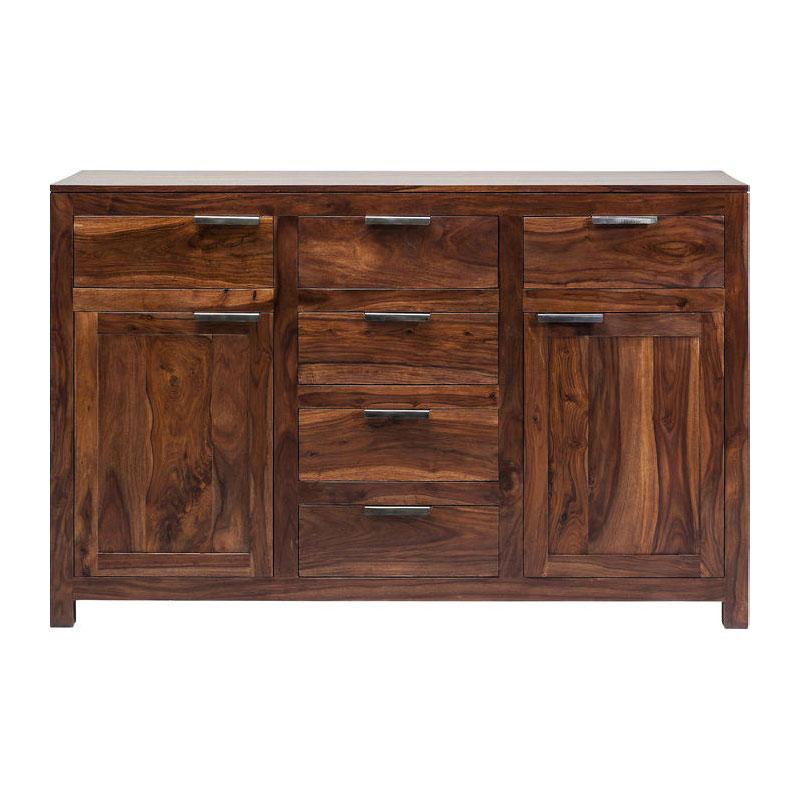 Breed houten dressoir