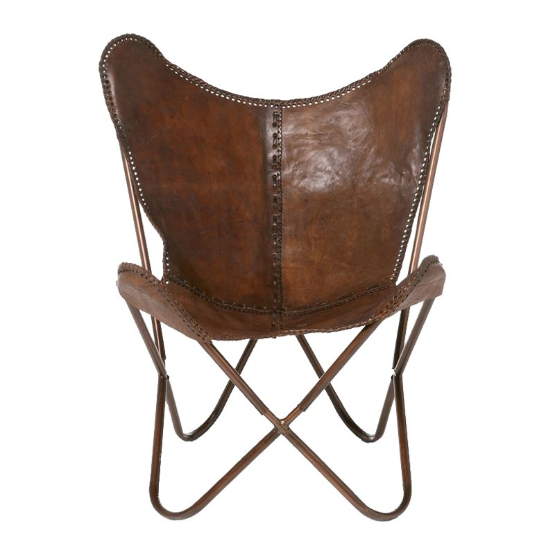 Kare Design Butterfly Brown fauteuil