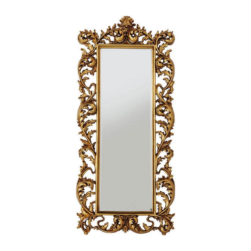 Brocante spiegel goud