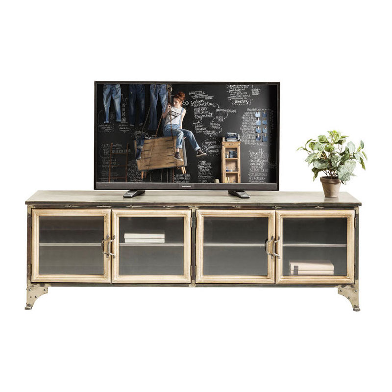 TV-meubel van metaal