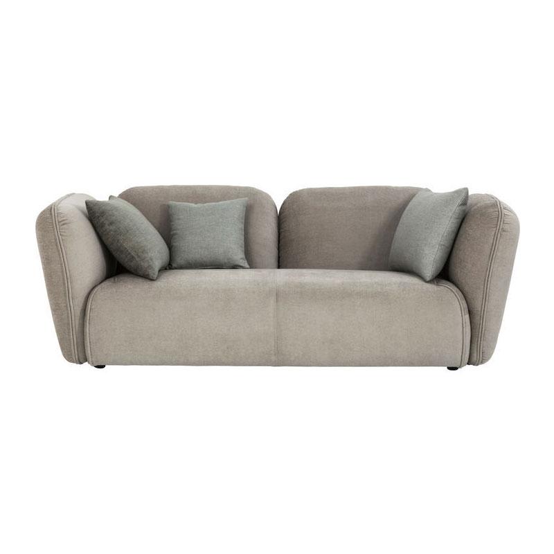 Grijze comfortabele 3-zitsbank