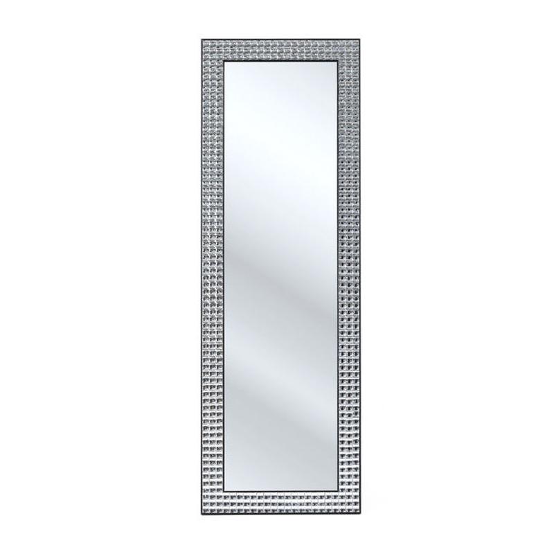 Staande spiegel met stoere lijst