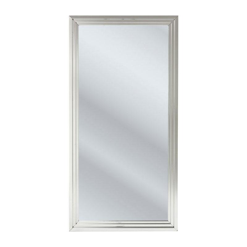 Spiegel met RVS frame