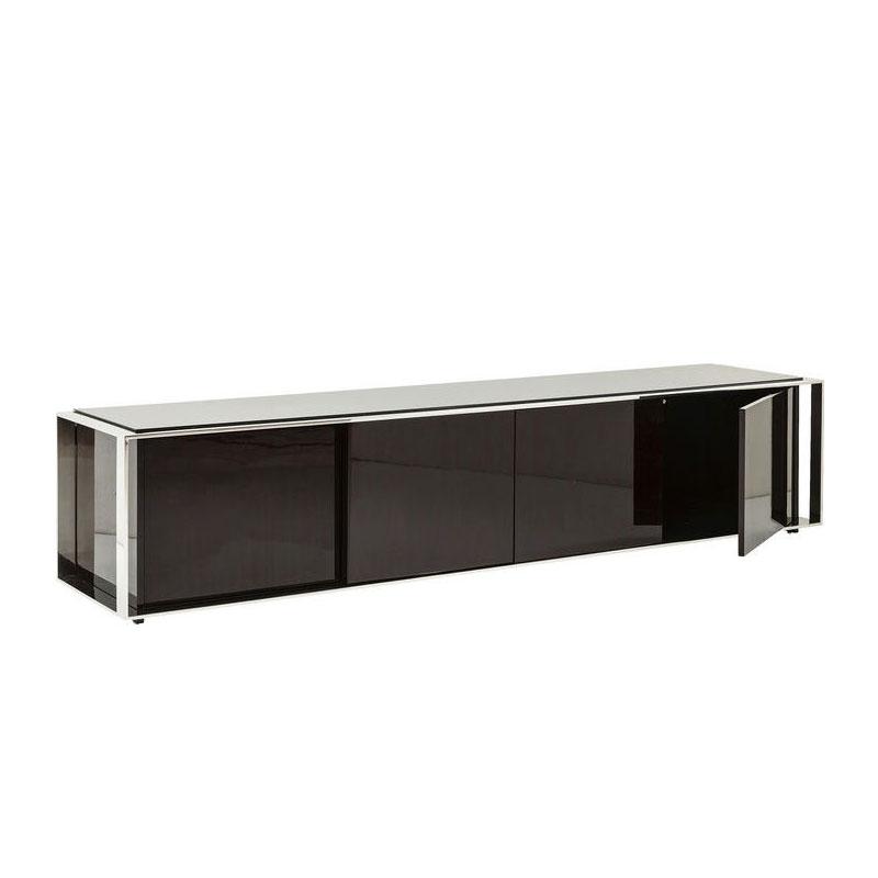 Design TV-meubel van hout