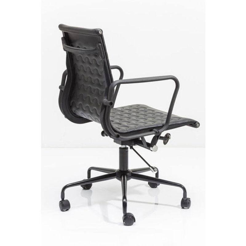 Bureaustoel met patroon