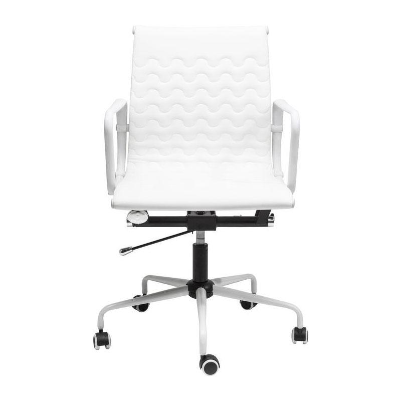 Witte bureaustoel