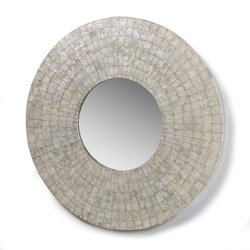 Ronde spiegel met coating