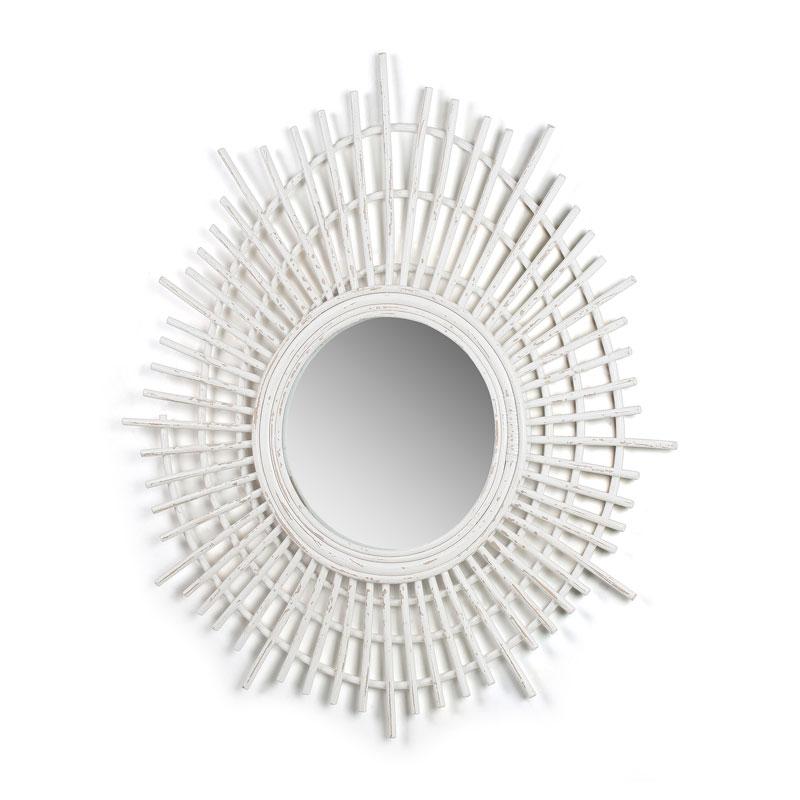 Witte spiraal spiegel