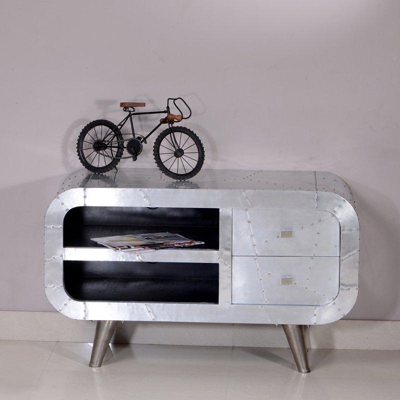 Industrieel tv-meubel metaal