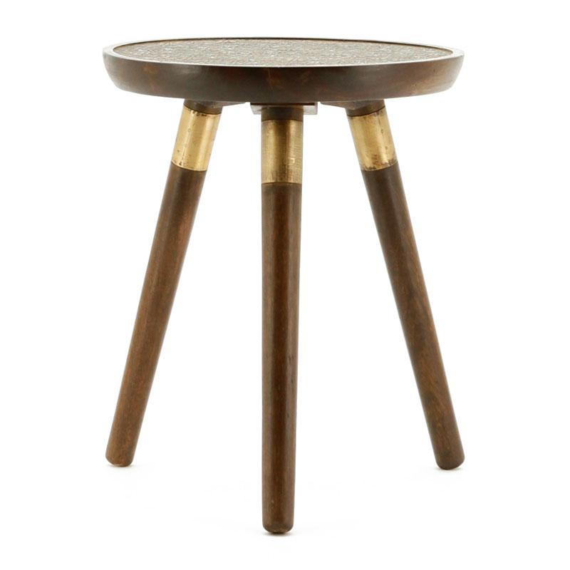Moderne bruine salontafel