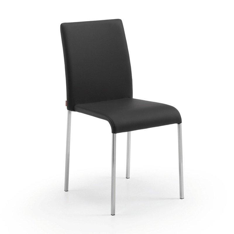 Moderne stoel kunstleder