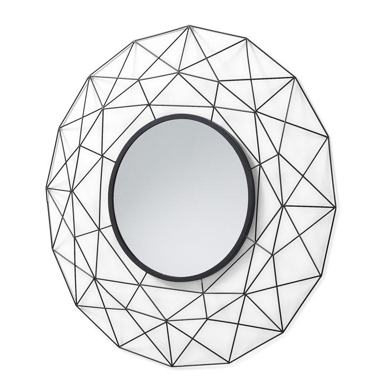 Moderne spiegel metaal