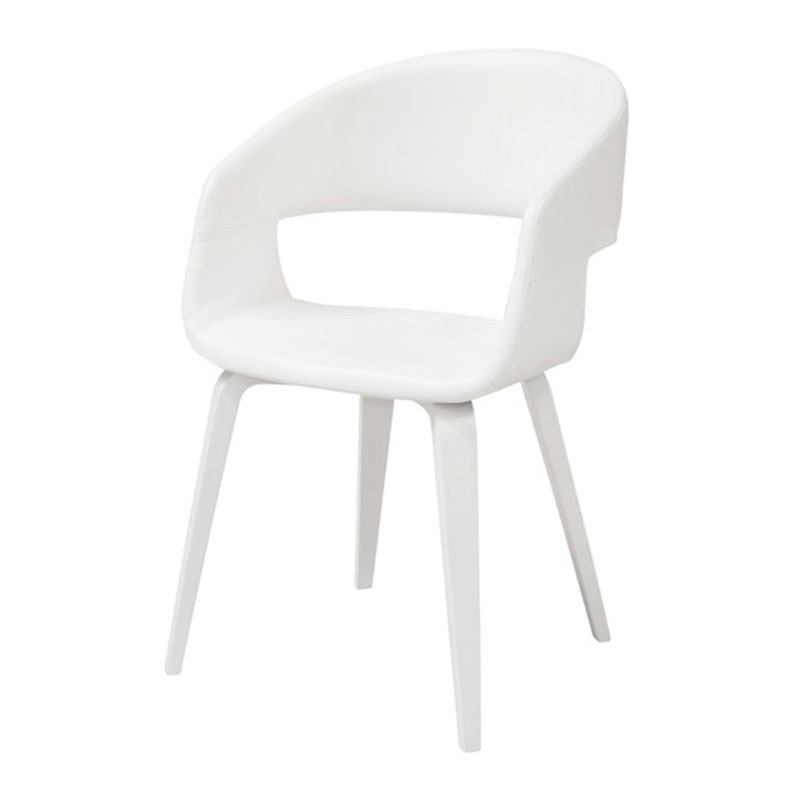 Witte design stoel kopen online internetwinkel - Moderne stoel ...