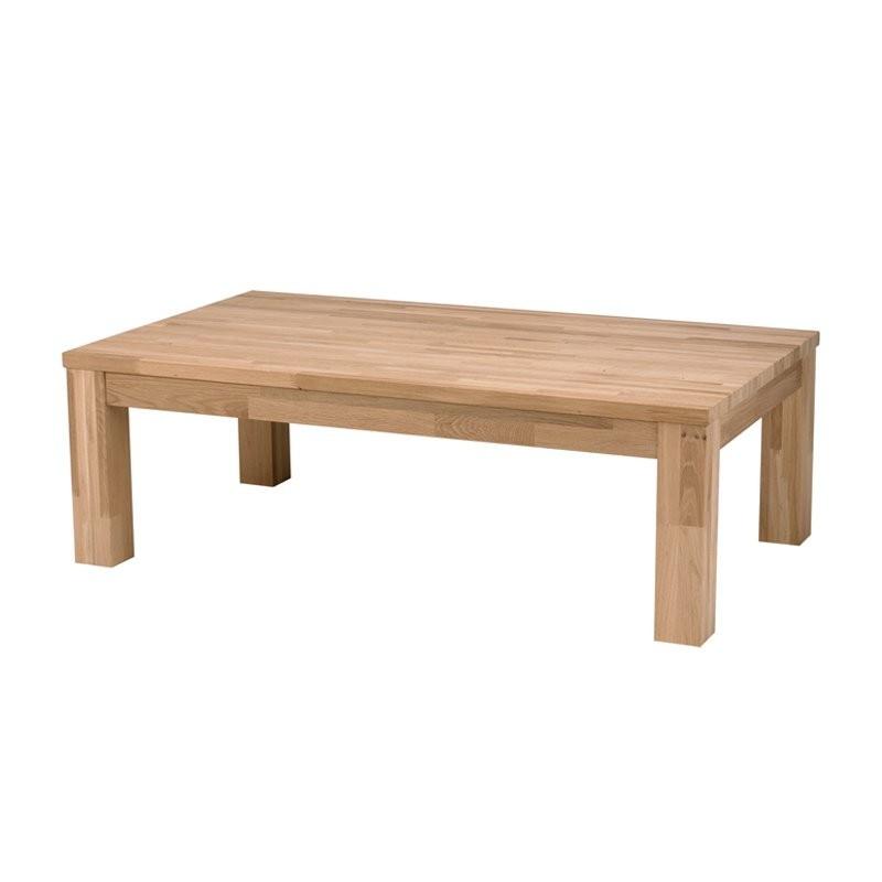 Design salontafel van eikenhout
