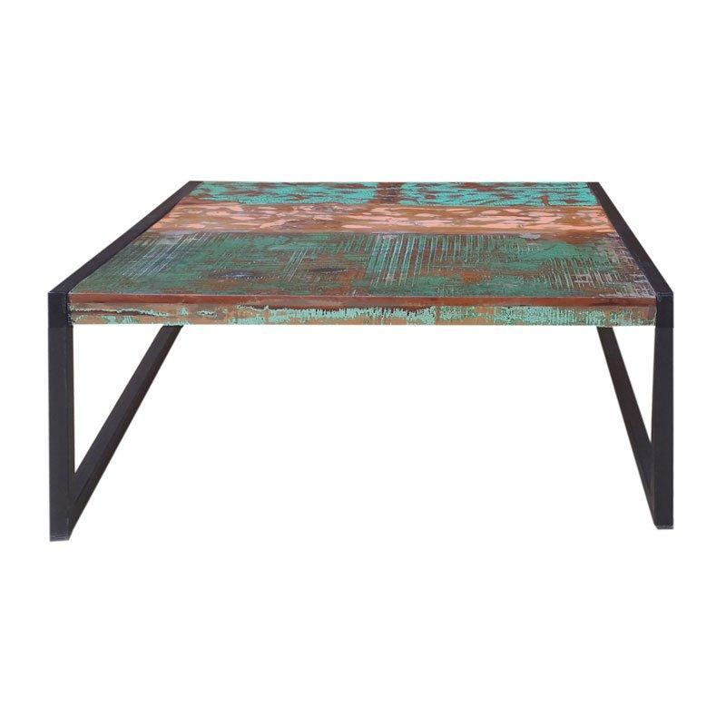 Authentieke salontafel sloophout