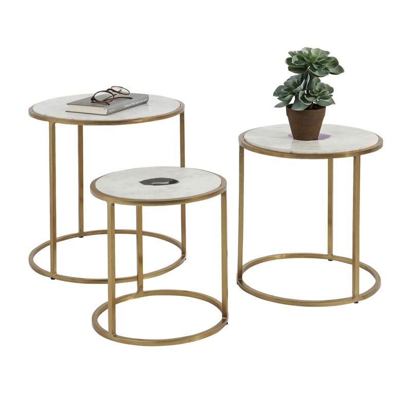 Set van 3 tafeltjes