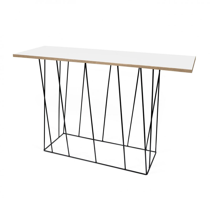 Sidetable mat wit