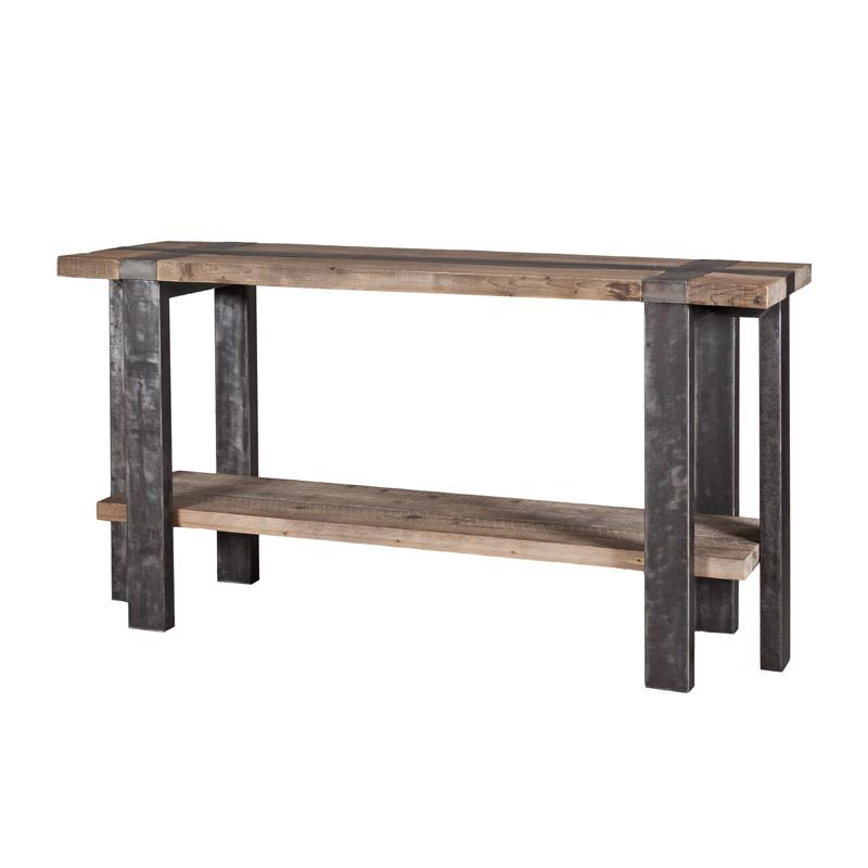 Sidetable van hout