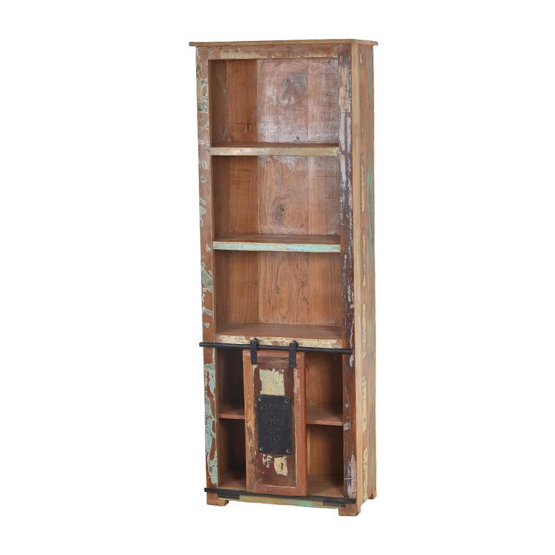 Boekenkast oud hout kopen?   Online Internetwinkel