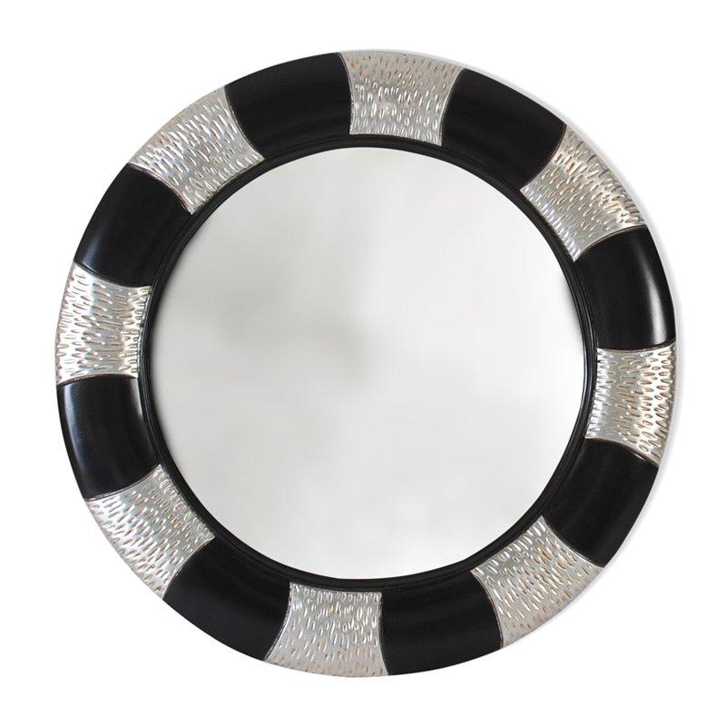 Ronde vintage spiegel