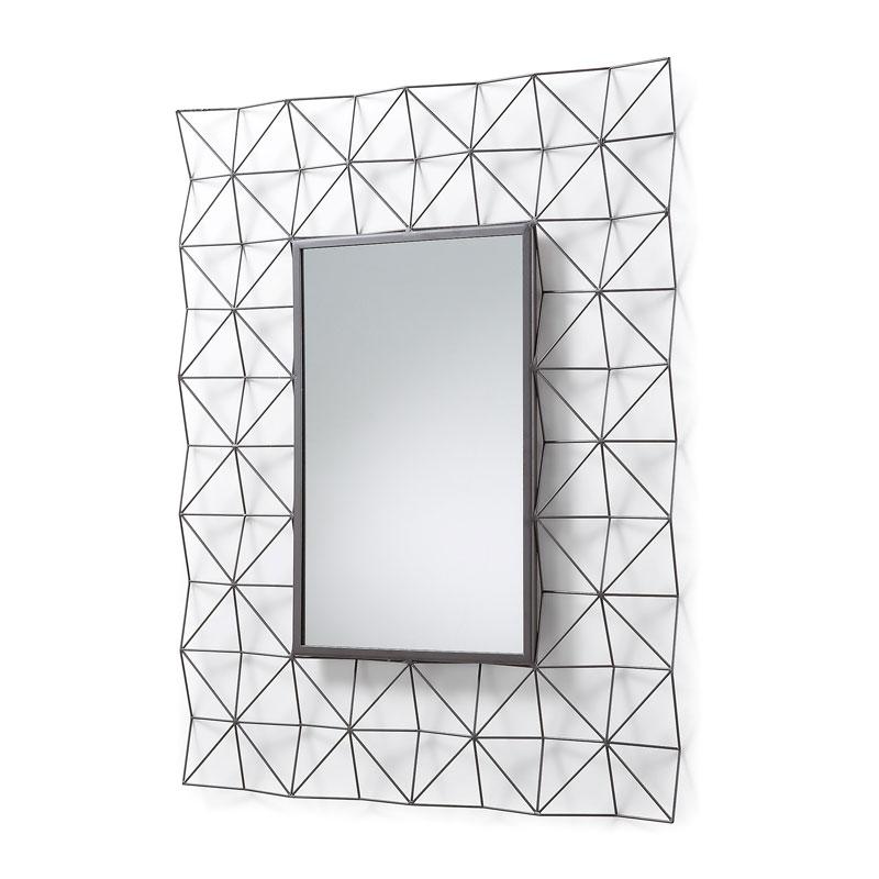 Spiegel met metaal