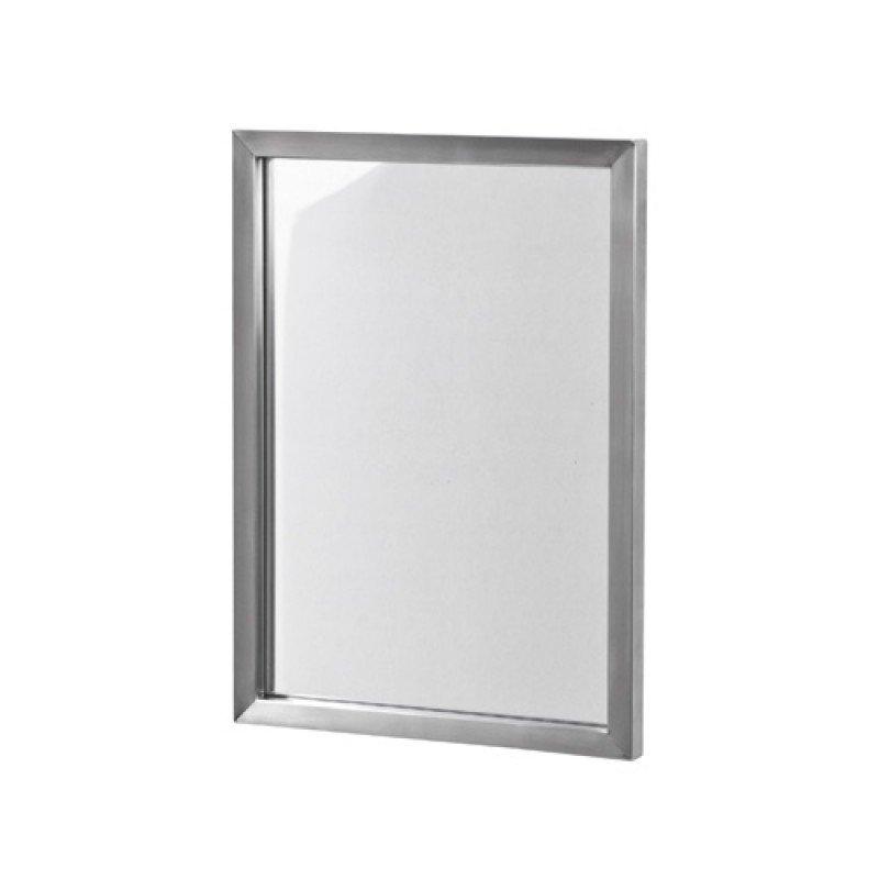 Spinder design spiegel RVS