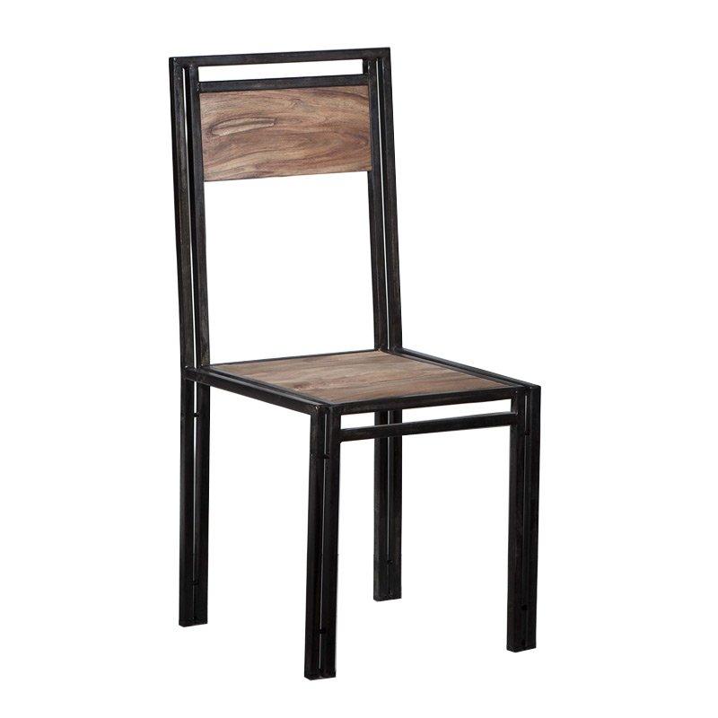 Industriele stoel hout