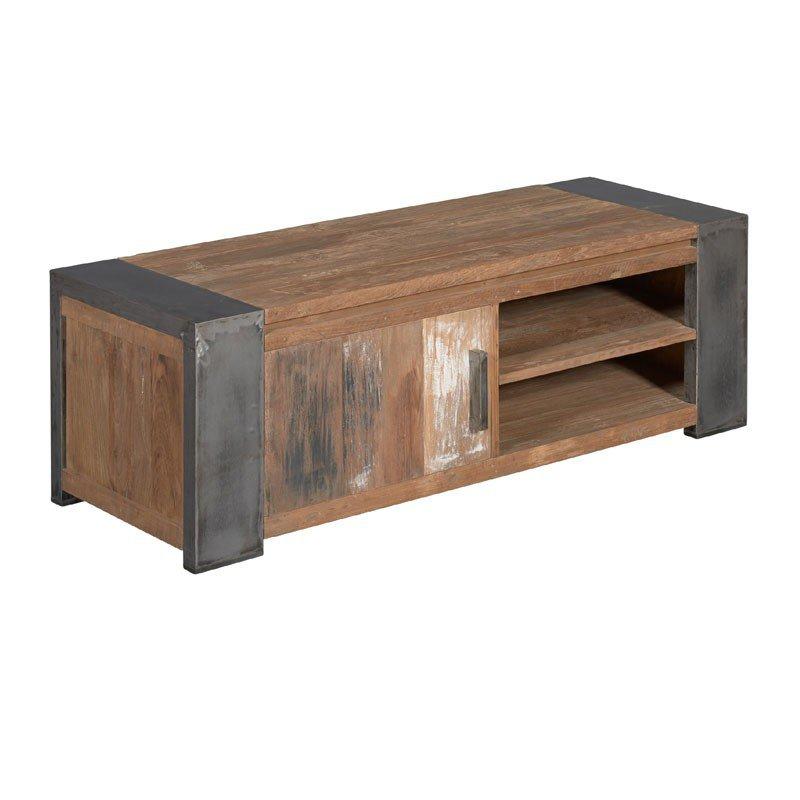 Teak tv-meubel 140 cm