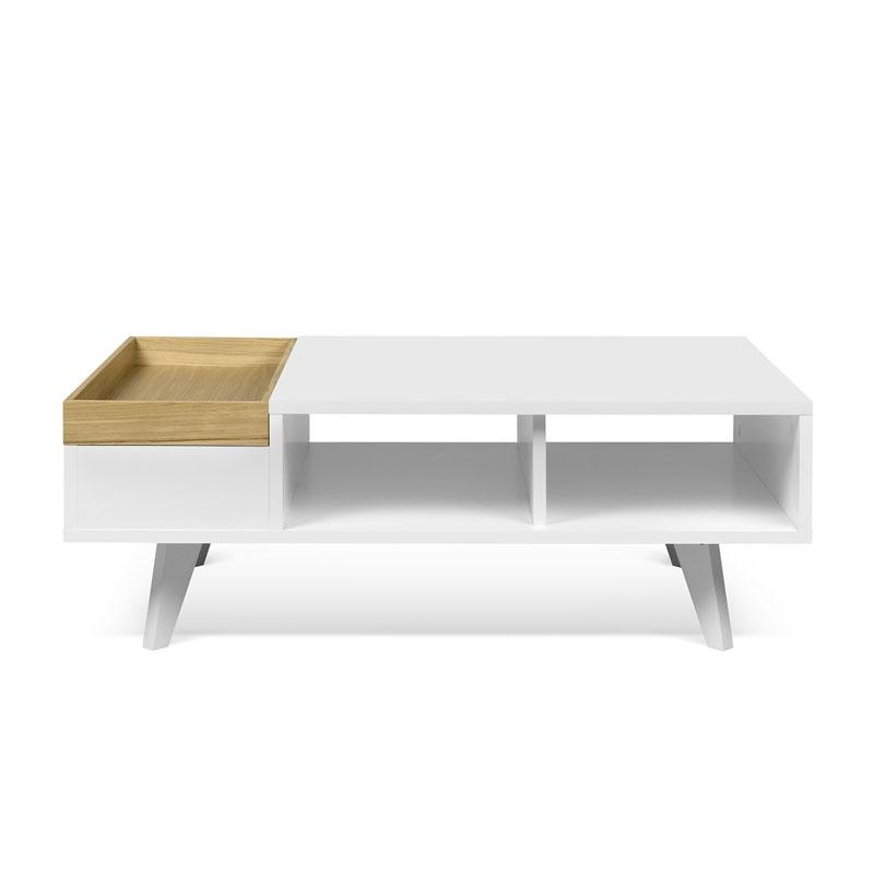 Open salontafel van hout