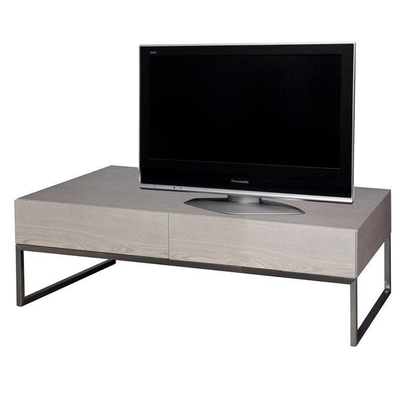 Tv-meubel grijs essen 120 cm
