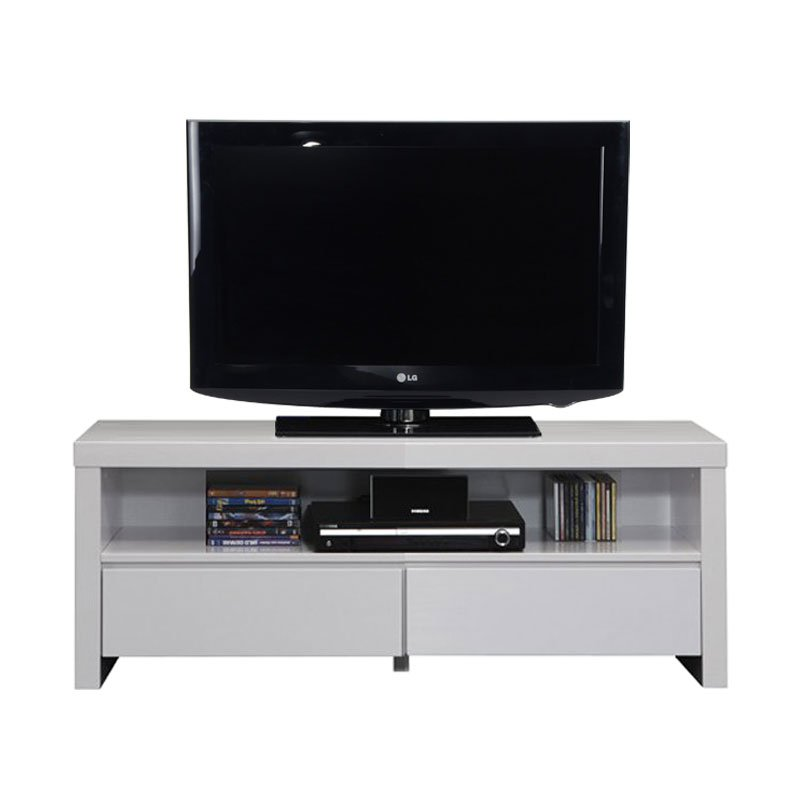 Tv meubel wit hoogglans design kopen online internetwinkel for Ladenblok verona