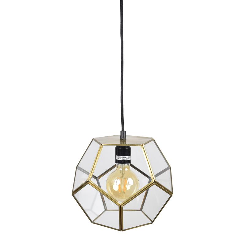 Hoekige bol hanglamp