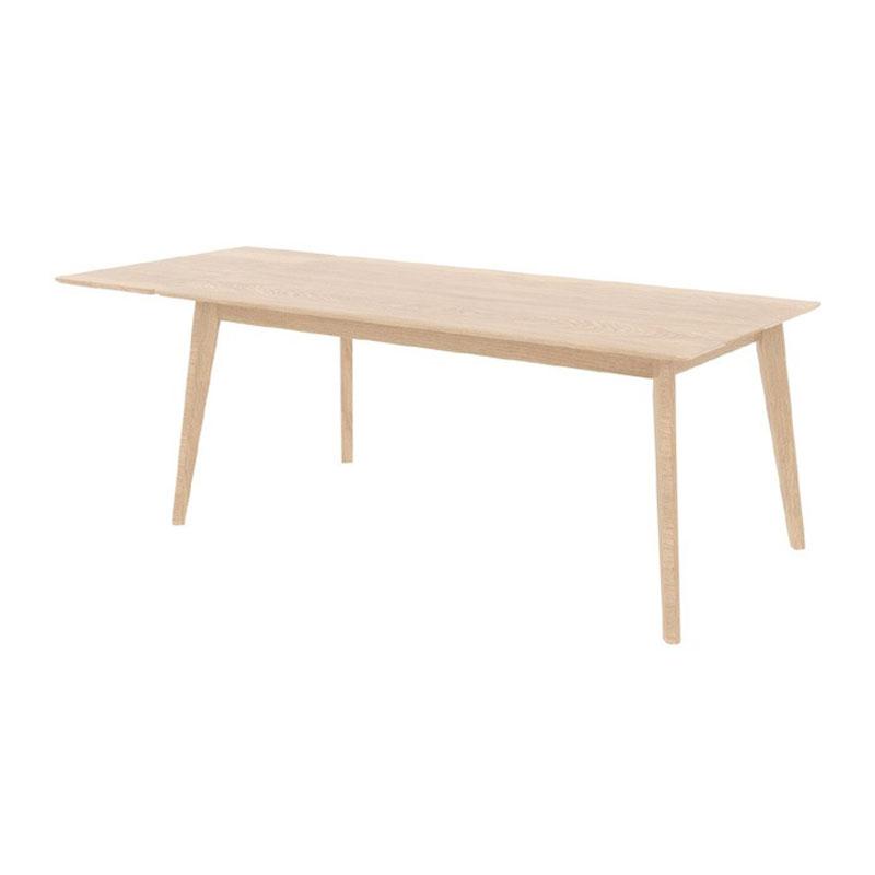 Eiken tafel met verlengstuk