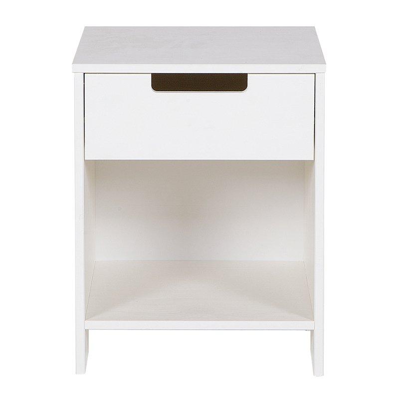 Nachtkastje hout kopen online internetwinkel - Wit hout nachtkastje ...