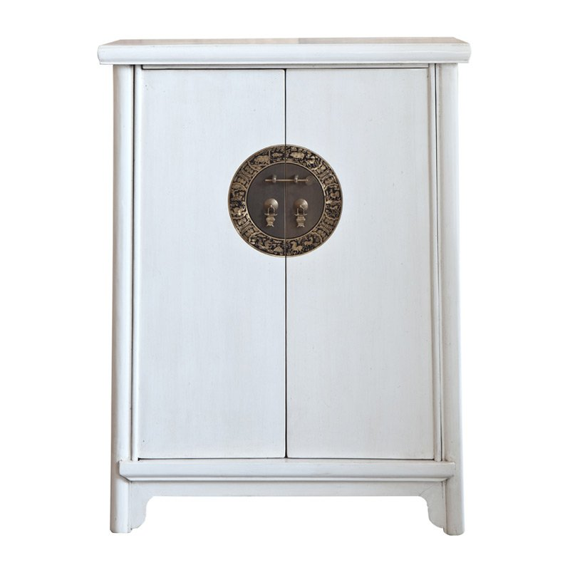 Authentieke chinese kast wit